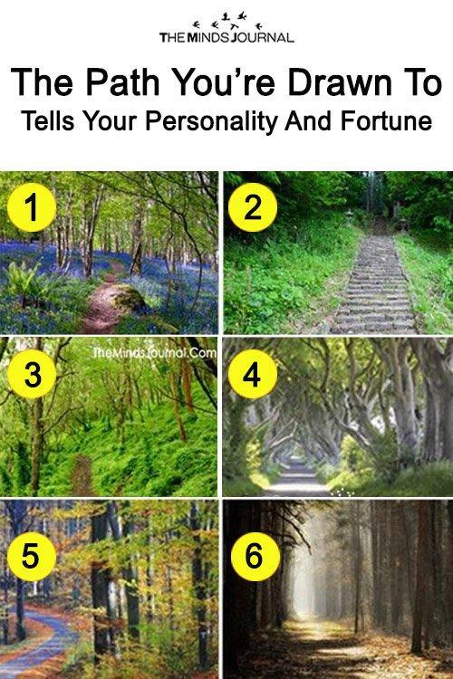 tes kepribadian: pilih satu dari enam jalan