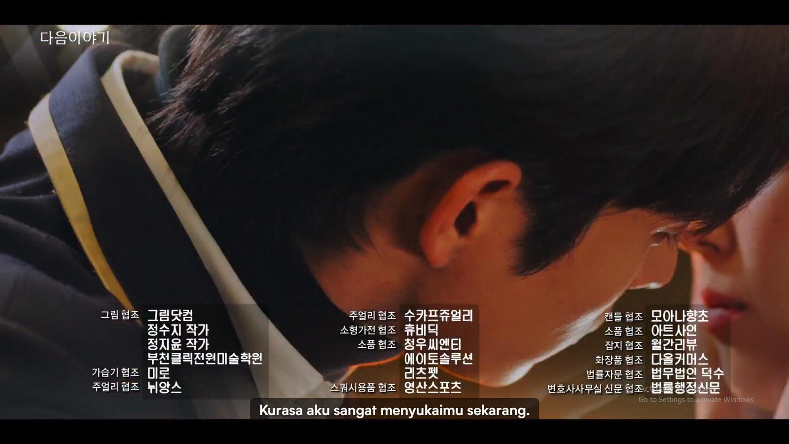 Joo Seok Hoon menyatakan perasaannya pada Ha Eun Byeol.