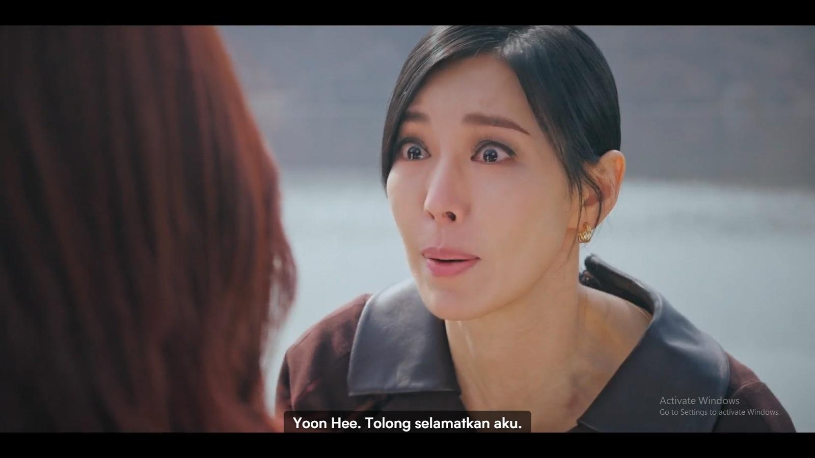 Cheon Seo Jin meminta bantuan pada Oh Yoon Hee.