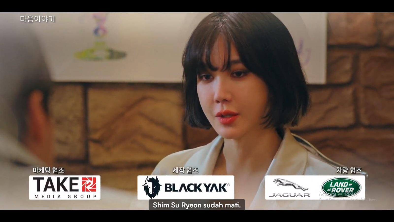 Na Ae Gyeo menegaskan bahwa Shim Su Ryeon telah mati.