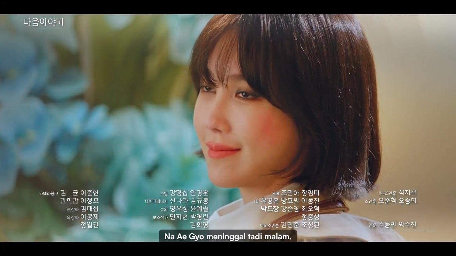 Na Ae Gyeo ditemukan telah meninggal dunia.