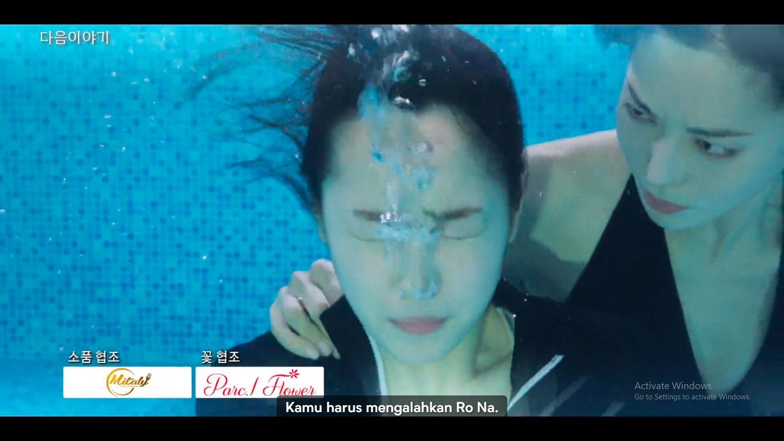 Cheon Seo Jin terus menekan Ha Eun Byeol untuk mengalahkan Bae Ro Na di Festival Seni Cheong A.