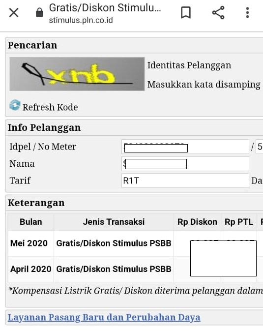 Tutorial login www.pln.co.id untuk mendapatkan token gratis listrik PLN untuk bulan Mei 2020