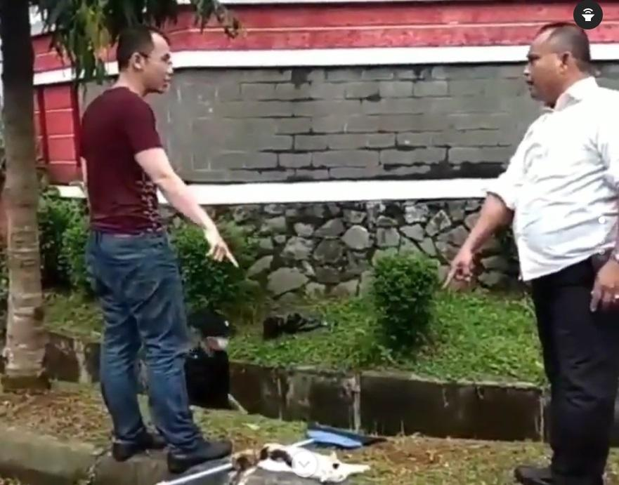 Viral video pengakuan seorang pria di BSD Tangerang yang tak suka kucing 2