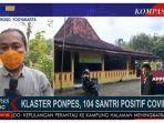 Temukan Klaster di Pondok Pesantren di Kulonprogo Yogyakarta, 104 Santri Positif Covid-19