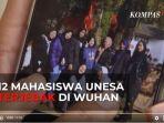 Cegah Virus Corona, 12 Mahasiswa Unesa di Wuhan Dilarang Keluar Asrama, Tiap Malam Suhu Tubuh Dicek