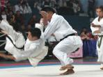 Karateka Indonesia Iwan Bidu Sirait Raih Keping Emas