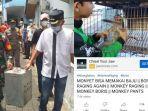 Youtuber Agung Satwa Nyalakan Petasan Dekat Peliharaan, 3 Monyet Disita Petugas