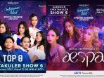 Live Streaming Indonesian Idol Top 8, Senin 22 Februari 2021: Ada Penampilan Spesial Girl Band aespa