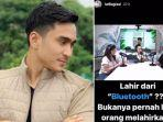 Saling Ejek, Lutfi Agizal Sentil Konten Ruben Onsu yang Sebut Lahir dari Bluetooth