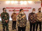 Airlangga: Pemerintah Distribusikan 35 Juta Masker untuk Masyarakat