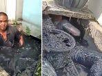 Istri Tak Mau Tidur Seranjang hingga Ancaman Ular Berbisa, Ini Duka Tukang Pembersih Got di Bekasi