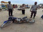 Aksi Standing Sepeda Motor di Pantai Berujung Maut, ABG Tabrak Warga hingga Tewas, Ini Kronologinya
