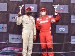 Juara di Kelas Kejurnas ITCR Max ISSOM 2021, Alvin Bahar Optimistis Juara Lagi di Putaran 3