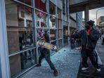 Rusuh di Amerika, Toko Milik Warga Indonesia Ikut Dirusak Massa