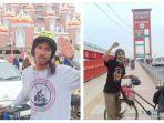 Demi Mencari Nilai Kehidupan, Seorang Pemuda Gowes dari Palembang Sampai Palu
