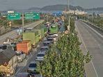 Arus Balik Idul Adha, Pelabuhan Bakauheni Dipadati Kendaraan