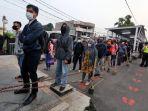 Antrean Penumpang KRL Kembali Mengular di Stasiun Bogor