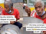 Kisah Kakek Penjual Arum Manis di Magelang, Merasa Cukup meski Hanya Kantongi Rp 50 Ribu Sehari