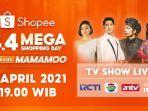 Fans 'Ikatan Cinta' Merapat! AL & Andin Siap Berikan Kejutan di Shopee 4.4 Mega Shopping Day TV Show