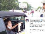 Petugas Satpol PP yang Hentikan Mobil Ayu Ting Ting di Bogor Diberi Hukuman Karena Maskernya Melorot