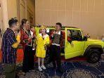 Kiano Rayakan Ultah Pertama, Baim Wong Hadiahi Mobil Setengah Miliar
