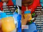 VIRAL Video Balita Diberi Racikan Kuning Telur Mentah Dicampur Susu, Dokter Anak: Bisa Berbahaya