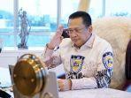 Bamsoet Terima Ucapan Idul Fitri dari Ketua Parlemen Singapura