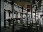 Banjir di Stasiun Tawang Semarang Bertambah Parah hingga Sabtu Siang, Perjalanan Kereta Terhambat