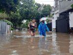 Banjir Kembali Landa Permukiman di Area Tanah Kusir, 50 Rumah Terendam