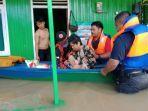 Banjir di Kabupaten Tanah Bumbu Belum Surut, Lebih Dari 200 Warga Bertahan di Pengungsian