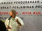 Menteri PUPR Minta Penanganan Amblasnya Bendungan Cipancuh Libatkan Ahli Geoteknik