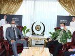 Bertemu Dubes Maroko, Bamsoet Bahas Upaya Perdamaian Dunia