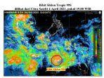 Penyebab Bencana di NTT, Bibit Siklon 99S atau Seroja, Berikut Dampak dan Luasannya