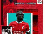 Link Live Streaming TV Online Liverpool vs Arsenal, Big Match Liga Inggris, Saksikan di Sini