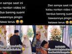 VIRAL Video Pengantin Wanita Bingung saat Prosesi Pernikahan, Padahal Suami Sudah Menyalami Keluarga