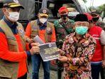 BNPB Serahkan Bantuan Sebesar Rp 4 Miliar untuk Gempa Bumi Sulbar