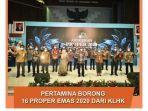 Borong 16 PROPER Emas 2020, Pertamina Perkuat Komitmen ESG