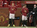 Golnya Buat Manchester United Direbut, Bruno Fernandes Tendang Bokong dan Tegur Scott McTominay