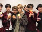 BTS Kolaborasi dengan McDonald's, ARMY Berimajinasi Buat Menu hingga Merchandise Serba Ungu