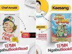 Kaesang Pangarep dan Chef Arnold Rilis Buku Jelang Idul Fitri 2021