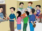 KUNCI JAWABAN Tema 6 Kelas 6 Halaman 101 dan 102 Tematik SD Bacaan Dampak Pelaksanaan Tanggung Jawab