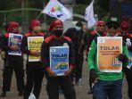Demo Buruh Hari Ini, Kawal Sidang MK Judicial Review UU Cipta Kerja