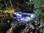Kondisi Korban Kecelakaan Bus Sri Padma Kencana Tragis, Banyak yang Terjepit