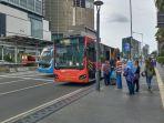 PSBB Transisi, BPTJ Tetap Lakukan Pembatasan Penumpang Transportasi Publik