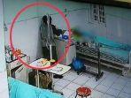 Seorang Pria Curi Uang di Ruang Isolasi Pasien Covid-19 di Medan, Aksinya Terekam CCTV