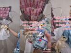 2 Kisah Viral Pria Berikan Buket Uang untuk Kekasih, Ada yang Rp 40 Juta hingga Rp 80 Juta