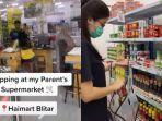 VIRAL Video TikTok Perempuan Belanja Sepuasnya di Supermarket Tanpa Bayar, Begini Cerita Lengkapnya
