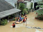 Sempat Ditinjau Anies, Hingga Malam Hari Ketinggian Banjir di Cipinang Melayu Masih 70 Sentimeter