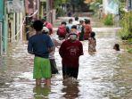 RW 04 Cipinang Melayu Kembali Terendam Banjir 2-4 Meter Pada Sabtu Pagi